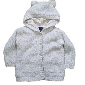 Cynthia Rowley Sherpa Lined Teddy Bear Jacket